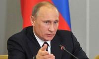 Presiden Rusia, Vladimir Putin menekankan hubungan dengan Uni Eropa dan AS