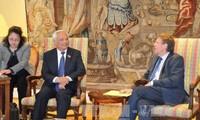 Parlemen Federasi Belgia dan Parlemen Eropa berharap memperkuat hubungan legislatif dengan Vietnam