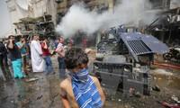 Serangan bom bunuh diri di kota Baghdad, Irak membuat lebih dari 40 orang menjadi korban
