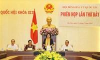 Pembukaan Sidang ke-7  Dewan  Pemilihan Nasional