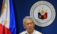 Filipina menolak usulan  dialog  bersyarat dari Tiongkok  tentang masalah Laut Timur