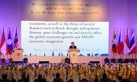 Pembukaan Konferensi ke-48 Menteri Ekonomi ASEAN di Laos