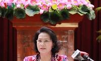 MN Vietnam angkatan ke-14 berusaha melaksanakan secara baik fungsi dasar Negara dalam pekerjaan legislasi