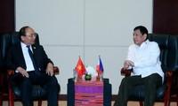 Para pemimpin Vietnam-Filipina menegaskan akan menghargai kerjasama bilateral
