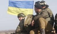 Baku hantam di Ukraina Timur, puluhan orang menjadi korban