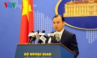 Reaksi Vietnam  tentang aktivitas kapal  militer AS di kawasan sekitar kepulauan Hoang Sa