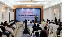 Memperkuat  pemberian informasi kepada pers tentang ASEAN dan UNESCO