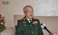Memperkuat kerjasama pertahanan Vietnam-Tiongkok, memberikan perdamaian  dan stabilitas kepada kedua negara dan kawasan