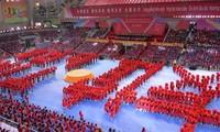 Kaum pemuda Vietnam dan Tiongkok berpadu tenaga  memupuk persahabatan