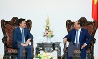 PM Vietnam, Nguyen Xuan Phuc menerima para Dubes Singapura dan  Kamboja
