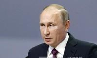 Presiden Rusia, Vladimir Putin:  Perekonomian  Rusia stabil