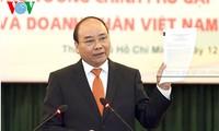 PM Vietnam, Nguyen Xuan Phuc bertemu dengan para intelektual diaspora Vietnam yang tipikal