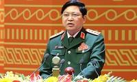 Jenderal Ngo Xuan Lich menghadiri Konferensi  Terbatas Menhan ASEAN di Laos