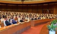 Para pemilih  seluruh  negeri memberikan apresiasi terhadap hasil persidangan ke-2 MN Vietnam angkatan XIV