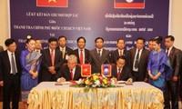 Inspektorat  Pemerintah Vietnam dan Laos memperkuat kerjasama