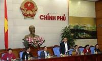 Deputi PM Vietnam, Truong Hoa Binh menerima delegasi orang-orang yang berprestise dan tipikel etnis minoritas provinsi Bac Giang