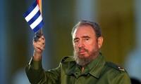Pemimpin  Kuba, Fidel Castro  berada dalam  hati rakyat Vietnam