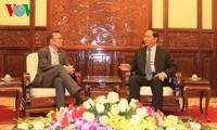 Presiden Vietnam, Tran Dai Quang menerima Dubes Selandia Baru, Haike Manning