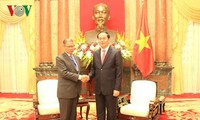 Presiden Tran Dai Quang menerima Menteri Perdagangan Luar Negeri dan Industri Malaysia