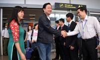 Kota Da Nang menyambut kedatangan 172 wisman sehubungan dengan Hari Raya Tet
