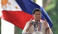 Presiden Filipina, Rodrigo Duterter menyatakan menarik diri  dari perundingan  damai dengan kaum pemberontak