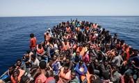 Italia terus menyelamatkan  ribuan  migran di Laut Tengah
