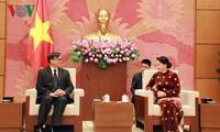Ketua MN Vietnam, Nguyen Thi Kim Ngan menerima Dubes Thailand, Manopchai  Vongphakdi