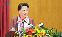 Ketua MN Vietnam, Nguyen Thi Kim Ngan mengadakan temu kerja  dengan Badan Perbendaharaan Negara Vietnam