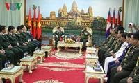 Memperkuat kerjasama pertahanan Vietnam-Kamboja