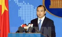 Vietnam memprotes Taiwan (Tiongkok) melakukan latihan menembak dengan peluru sungguhan di daerah laut   di sekitar pulau  Ba Binh, kepulauan Truong Sa