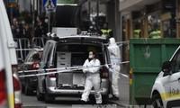Tersangka kedua  dalam serangan teror di Swedia tertangkap