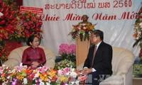 Pimpinan kota Ho Chi Minh mengucapkan selamat Hari Raya Tahun Baru Tradisional Bun Pi May