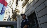 Konsulat Perancis di New York  harus mengungsi karena ancaman serangan bom