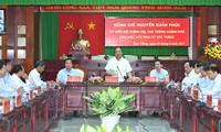 Provinsi Soc Trang perlu berfokus memperluas areal padi yang memberikan  produktivitas tinggi dan buah-buahan yang  unggulan