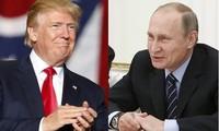 Presiden Rusia dan AS mengadakan pembicaraan telepon