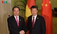 Memperdalam lagi hubungan kemitraan kerjasama strategis dan komprehensif antara Vietnam dan Tiongkok