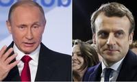 Presiden Rusia dan Perancis sepakat bekerjasama tentang masalah-masalah internasional