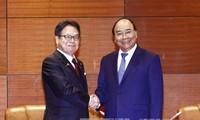 PM Vietnam, Nguyen Xuan Phuc menerima para wakil dari beberapa perekonomian anggota APEC