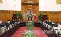 PM Vietnam, Nguyen Xuan Phuc menerima delegasi  Partai Aksi Rakyat Singapura yang berkuasa