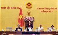 Pembukaan persidangan ke-12 Komite Tetap MN Vietnam angkatan XIV