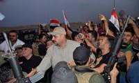 PM Irak, Haider al-Abadi dengan resmi menyatakan kemenangan atas IS di kota Mosul