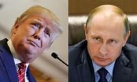 Presiden AS, Donald Trump memberikan penilaian tentang  pertemuan  antara dia dengan Presiden Rusia, Vladimir Putin sebagai indikasi positif