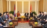 Memupuk dan mengembangkan secara berkesinambungan solidaritas dan persahabatan Kamboja-Vietnam