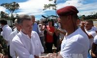 Perutusan PBB  untuk  mengawasi permufakatan damai di Kolombia  telah menderita  serangan