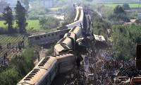 Jumlah korban  dalam kecelakaan kereta api di Mesir meningkat tinggi