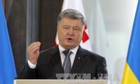 Ukraina  mengeluarkan persyaratan bagi penggelaran perutusan penjaga perdamaian PBB di  bagian Timur negeri ini