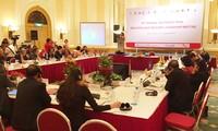 Lembaga Palang Merah-Sabit Merah Negara-Negara  ASEAN   berkoordinasi melakukan aktivitas-aktivitas kemanusiaan