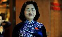 Wapres Vietnam, Dang Thi Ngoc Thinh menghadiri  resepsi kenegaraan sehubungan dengan peringatan ultah ke-50 Hari kenaikan Takhta Raja Brunei Darussalam