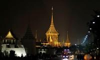 Upacara kremasi alamarhum Raja Bhumibol Adulyadej berlangsung  secara khidmat dan mengharukan