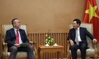 Sekjen Jaringan Pekerja Asia-Pasifik, Shoya Yoshida melakukan kunjungan di Vietnam